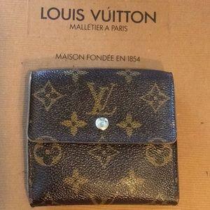 Authentic LV Elise Wallet